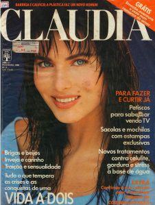Revista Claudia, 1988.