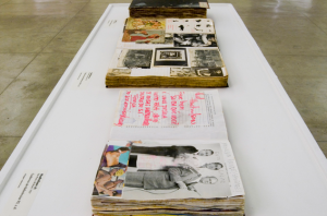 Hudinilson Júnior – Livro de artista. Em exposição no MAC USP.