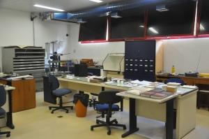 Interior da Oficina.